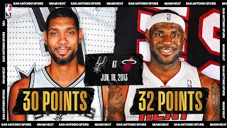 2013 NBA Finals Game 6: San Antonio Spurs @ Miami Heat (SAS leads 3-2)