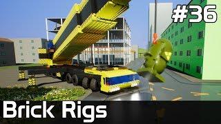 Brick Rigs PL [#36] Tranport BOMBEK przez MIASTO /z Plaga