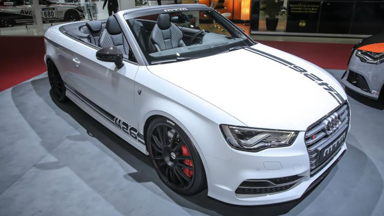 mtm audi s3 cabriolet 426 edition geneva motor show 2015 hq youtube. Black Bedroom Furniture Sets. Home Design Ideas