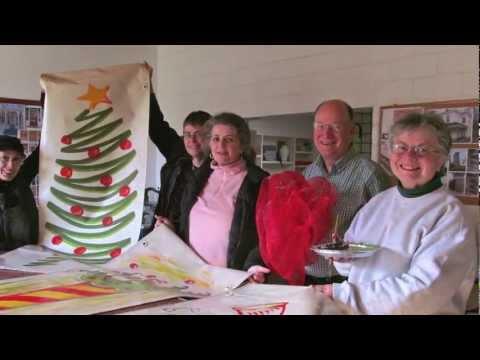 Annapolis Royal, Nova Scotia - White Christmas