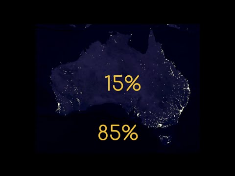 85% Of Australia Lives On The Coast (And Other Fascinating Population Patterns)