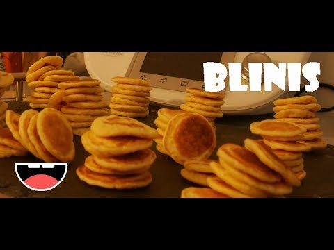 les blinis au thermomix