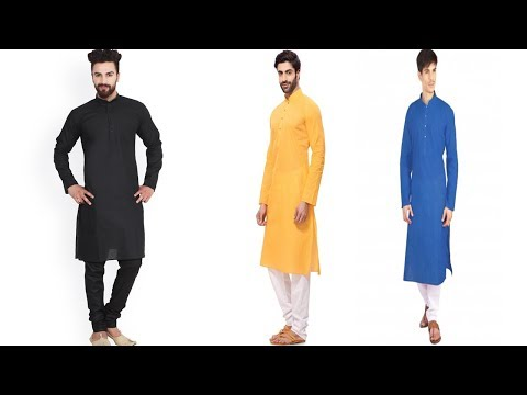 Punjabi Kurte pajame design | Latest Designer Kurta Pajama For Mens