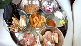 Okop Usem Afia Efere ye usung Bia (native white Soup and Pounded Yam)