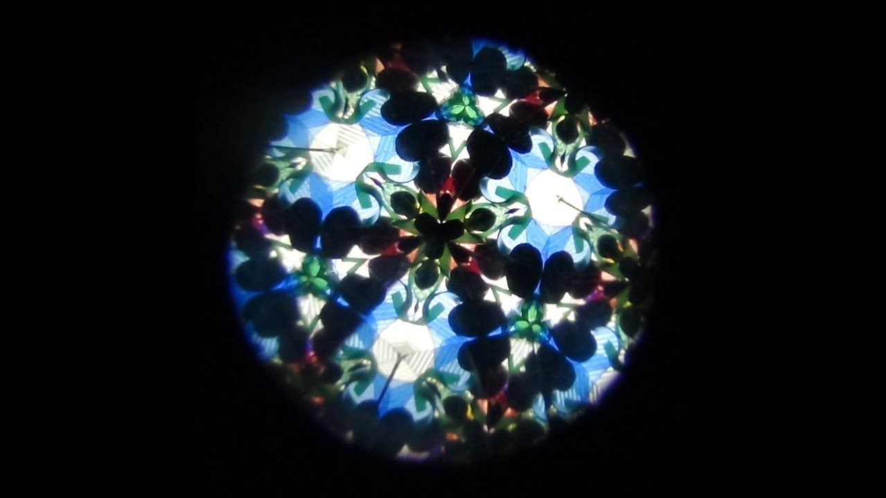 C mo hacer un caleidoscopio con material reciclado how to for Como construir pileta de material