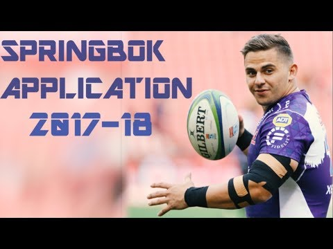 Rohan Janse Van Rensburg ● Springbok Application 2018 - HD By CROSE