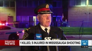 Peel Police Chief provides update on shooting