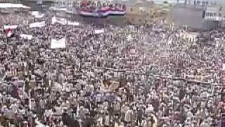 1.5 million protesters in south yemen