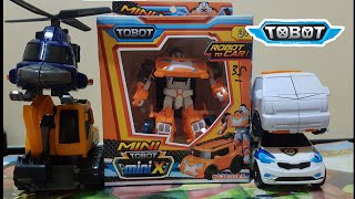 UNBOXING TOBOT X WARNA ORANGE | BERMAIN TOBOT ZERO, TOBOT H & MINI ROCKY