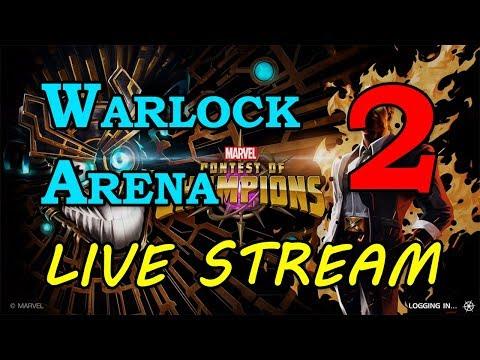 Warlock Arena - Round 2 - Part 2 | Marvel Contest of Champions Live Stream