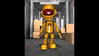 Talking Roby the Robot Broken Wallet