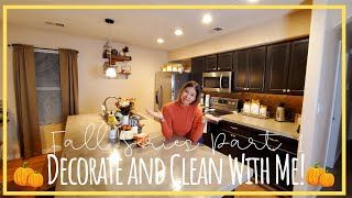 Fall Decorate & Clean With Me 2019 | Fall Rae Dunn Displays | Part 1: Kitchen
