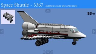 LEGO - How to build 3367 - Space Shuttle