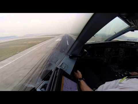 Scandinavian 995 lands at Beijing, with Airbus 340.