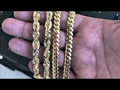 7MM ROPE/CUBAN LINK COMPARISON