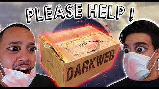 (HELP)OPENING A $666 REAL DARK WEB MYSTERY BOX! / SOLVE THE MYSTERY! *WARNING*