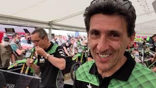 Un week-end de course au sein du team 9MM Energy Drink Bud Racing Kawasaki à Ernée