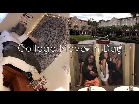 COLLEGE MOVE IN DAY VLOG! VALDOSTA STATE UNIVERSITY | toldbyashley