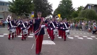 Marchingband K.T.S.M. Tiel - Fruitcorso Tiel 2016