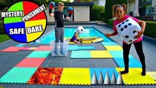 Giant Board Game Challenge!! Winner Gets $100
