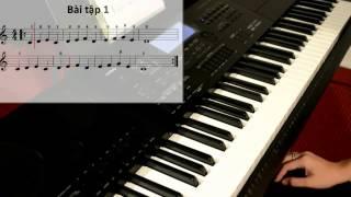 Tự Học Đàn Organ - Bài 1 - CAVAT.com hân hạnh tài trợ chương trình này