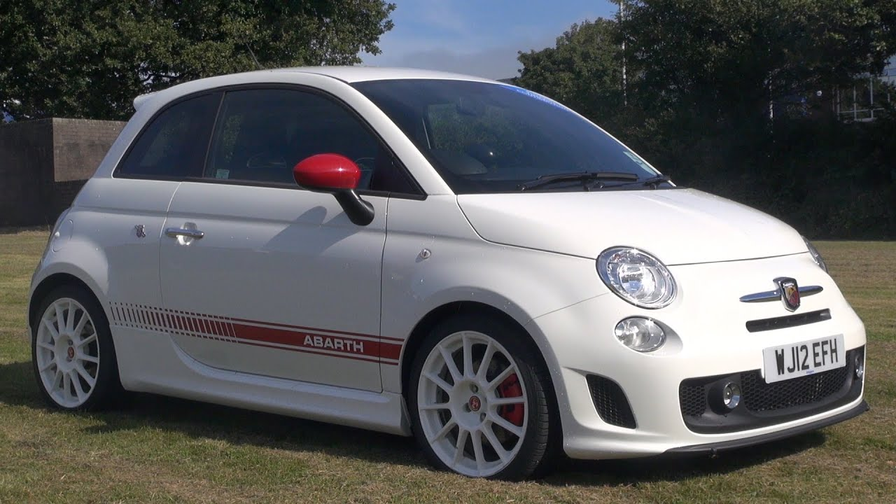 Abarth 500 Esseesse Preview and Test Drive - YouTube