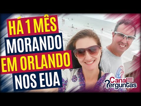🔴[AO VIVO] Casal recém chegados em Orlando ✔