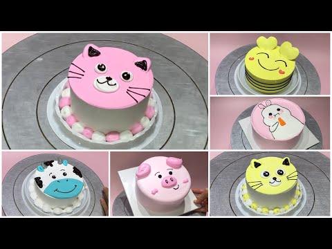 Cute birthday cake for baby - Mẫu bánh sinh nhật dễ thương cho bé - DieuLinh Cake   Foci