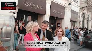 Intervista a Paola Quattrini e Paola Barale