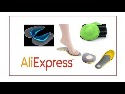 супинаторы и ортопедические стельки с Али Экспресс