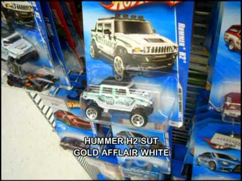Off The Pegs: Toys R Us Exclusive Ferrari, 55 Chevy, & Hummer