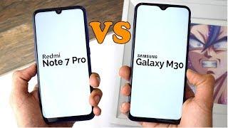 Redmi Note 7 Pro vs Samsung Galaxy M30 Full Comparison in Bangla