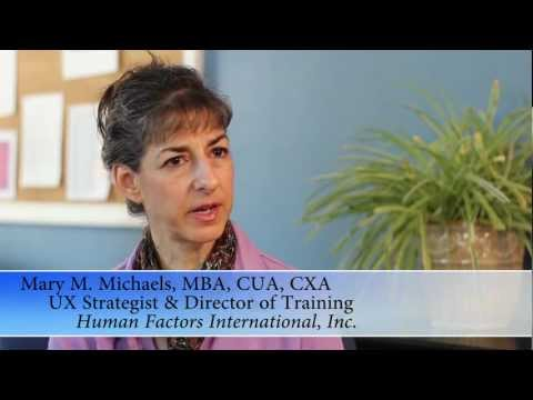 CUA or CXA courses, with Mary M. Michaels