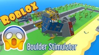 Roblox Boulder Stimulator | I'm eating you all| Roblox