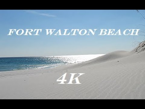 Fort Walton Beach Florida 4k by Drone and GoPro