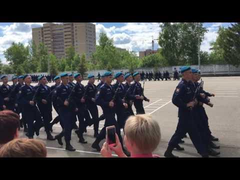 Торжественный марш ВДВ Кубинка 45 полк