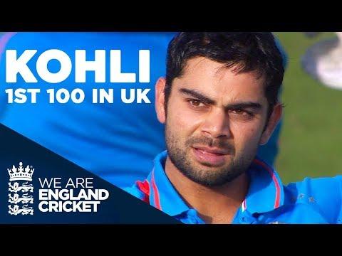 Virat Kohli's 1st Hundred In The UK | England V India 2011 - Highlights