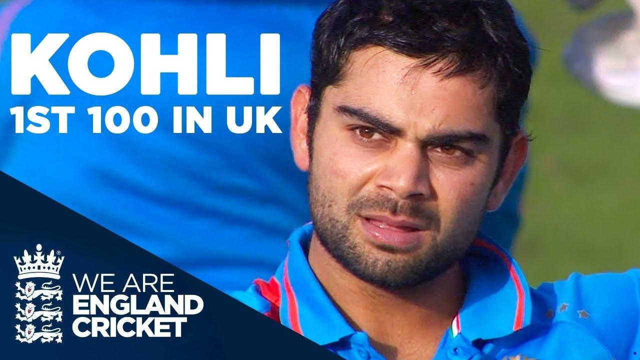 Virat Kohli's 1st & Only Hundred In The UK   England v India 2011 - Highlights