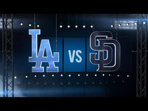 4/6/16: Dodgers shutout the Padres and make history