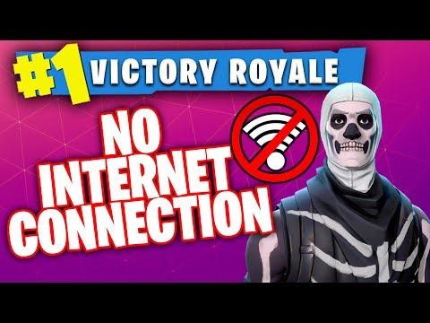 Winning A Game On Fortnite While Getting DDOS ATTACKED!! (No Internet Connection...)