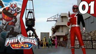 Let's Play Power Rangers S.P.D. Part 1: Episode 0 & 1 [S.P.D. Emergency!]