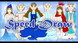 Warrior Princess Speed Draw