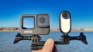 GoPro HERO 9 vs Insta360 GO 2!