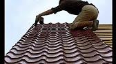 Труба слива дождевой воды с крыши дома 2015-06-15 - YouTube