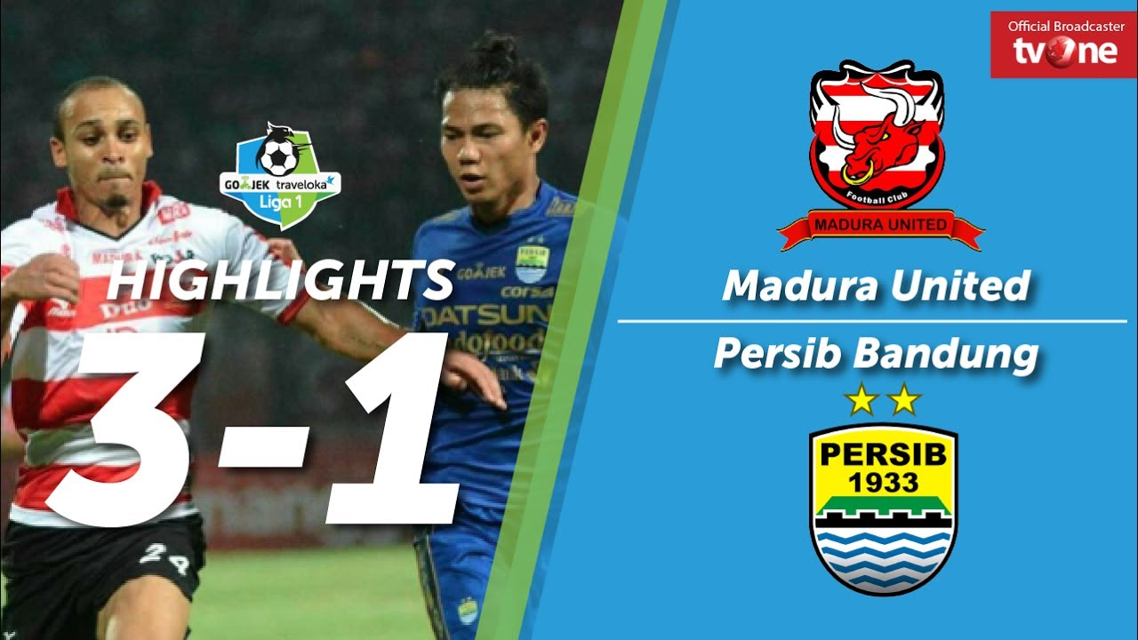 Madura United: Madura United Vs Persib Bandung: 3-1 All Goals