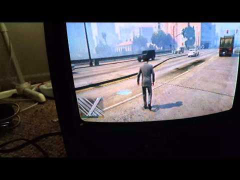 PS4 on a CRT!!
