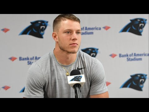 Christian McCaffrey: The football field is my comfort zone.