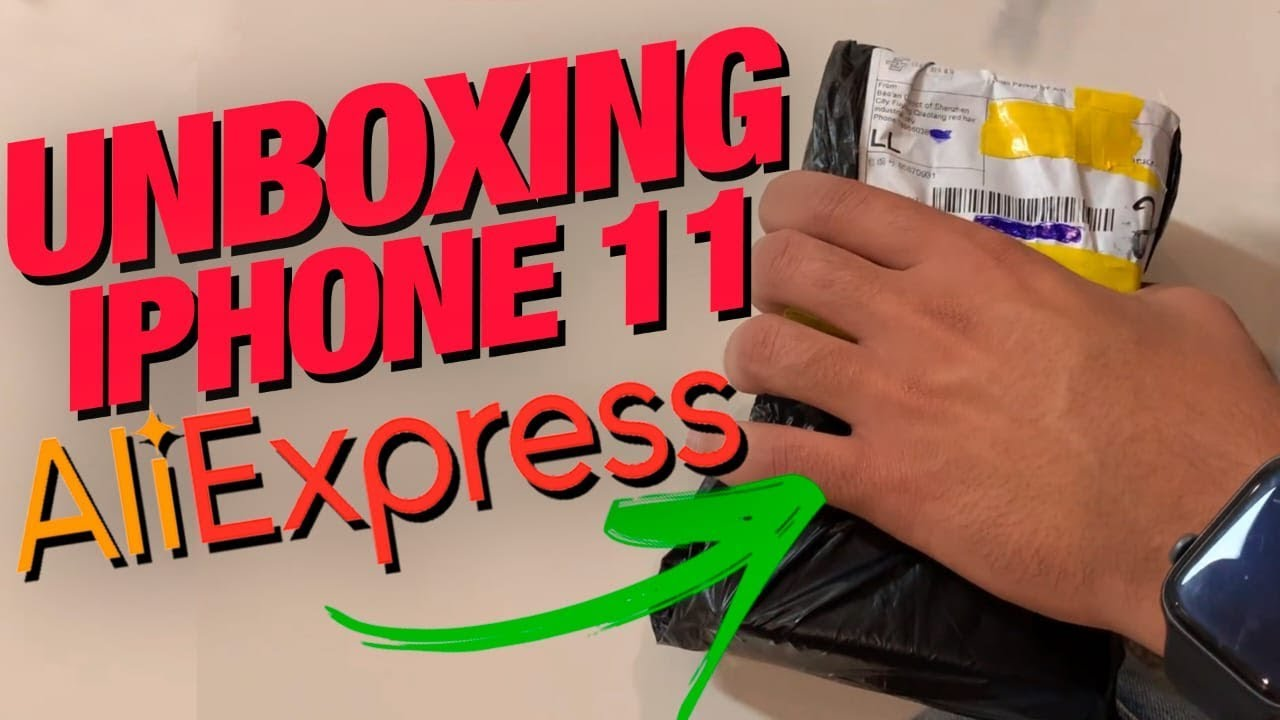 Unboxing iPhone 11 Pro Max Aliexpress