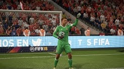 FIFA 18 Manuel Neuer Goalkeeper Montage