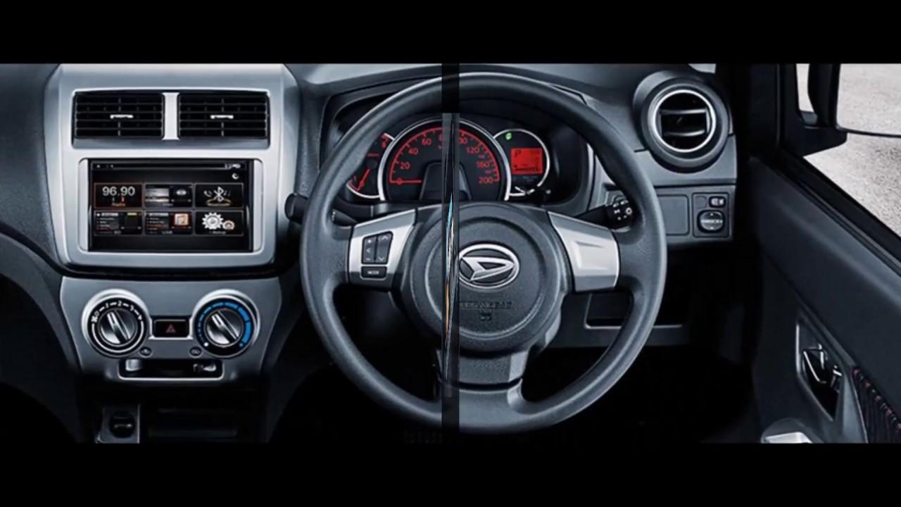 New Fitur Daihatsu Ayla All Desain Interior Mobil Baru 2018 Pesaing